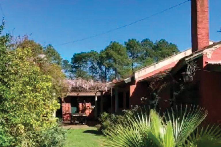 A principios de año, Eugenia y Benjamín compraron una antigua casa de estilo campestre en el country Chacras de Murray, en Pilar, sobre un gran parque de 8300 metros cuadrados