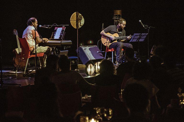 Con el israelí Yotam Silberstein, figura destacada del jazz contemporáneo con base en Nueva York