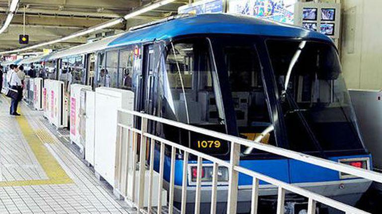 El monorriel de Tokyo funciona desde la década del 50