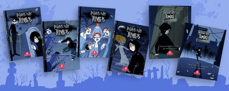 """La saga """"Historias entre tumbas"""" incluye relatos en cuatro tomos y dos historietas"""