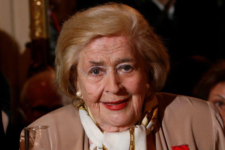La actriz uruguaya de 92 años tuvo una recaída