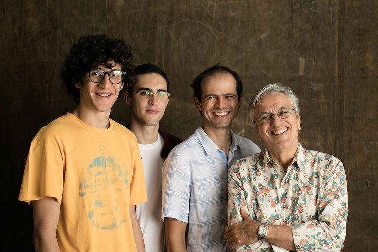 Ofertorio, el espectáculo que reunió a Caetano Veloso con sus hijos, llega en setiembre al Teatro Gran Rex
