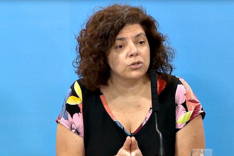 Carla Vizzotti, ministra de Salud de la Nación