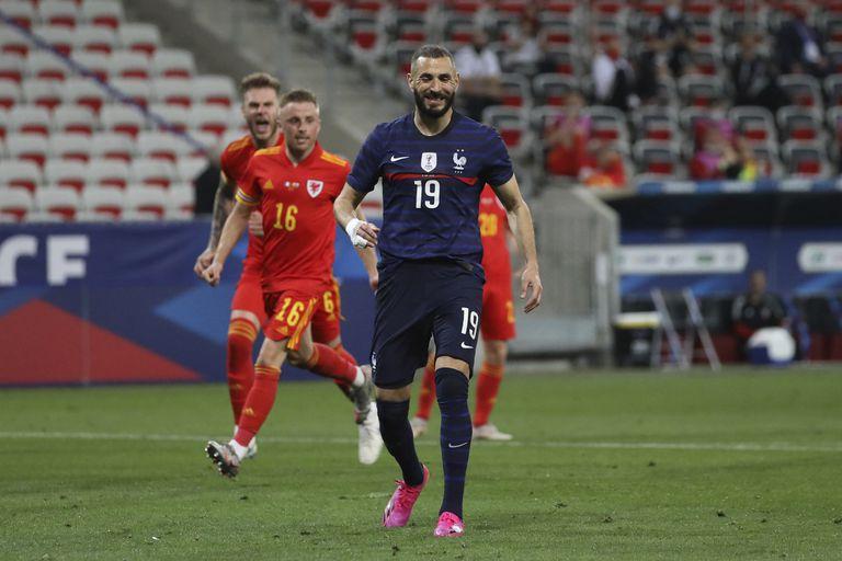 Karim Benzema, un 9 de peso para el seleccionado de Francia que buscará dar pelea en la Eurocopa