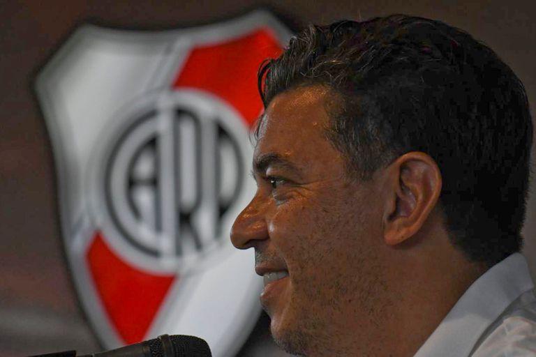 El entrenador de River se refirió al conflicto entre AFA y Superliga