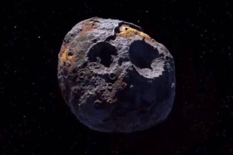 Confirman que el asteroide Psyche es más valioso que toda la economía de la Tierra