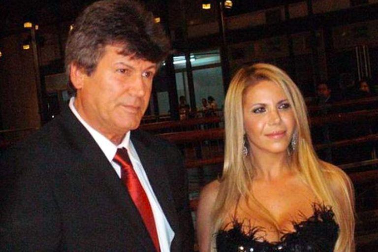 Carlos Calvo y Carina Galucci, la mujer con la que se casó y construyó una familia