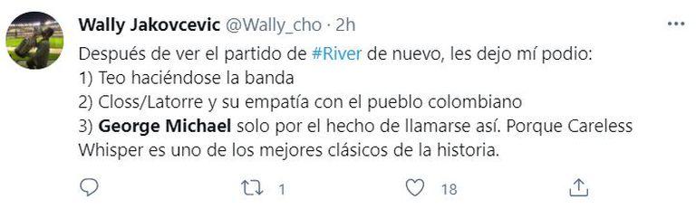Los mejores tuits tras el partido de River