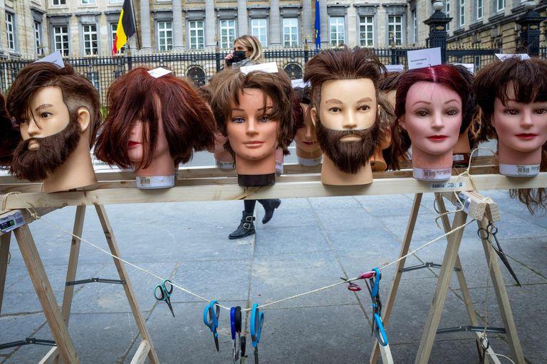 Bruselas, mayo 2021. Edición fotográfica de Dante Cosenza