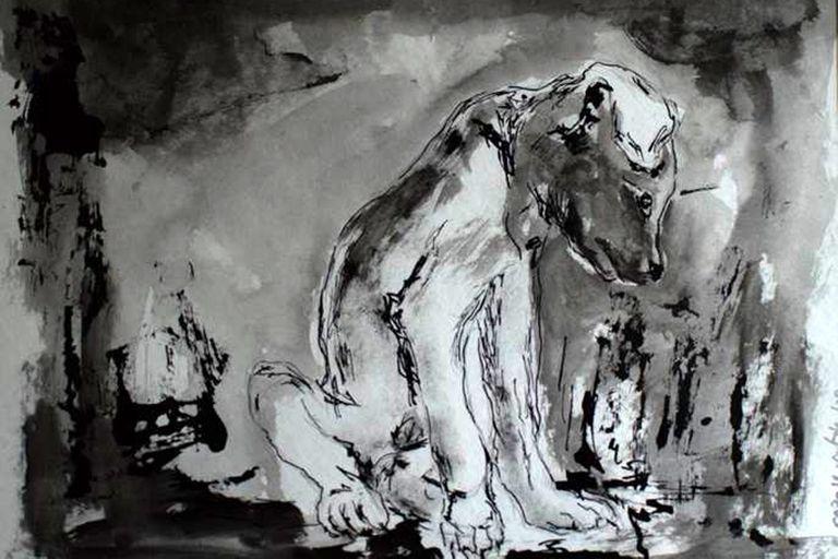 Carolina Outón - Desilusión (Pintura)