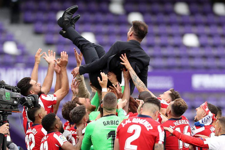 España: el Atlético de Simeone grita campeón ante los gigantes