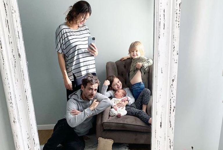 El matrimonio Alfonso-Chaves suele compartir en sus redes sociales los momentos compartidos en familia