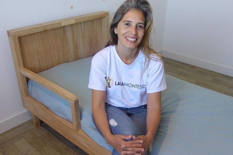 Marianela Casanova, creadora de Lala Montessori.