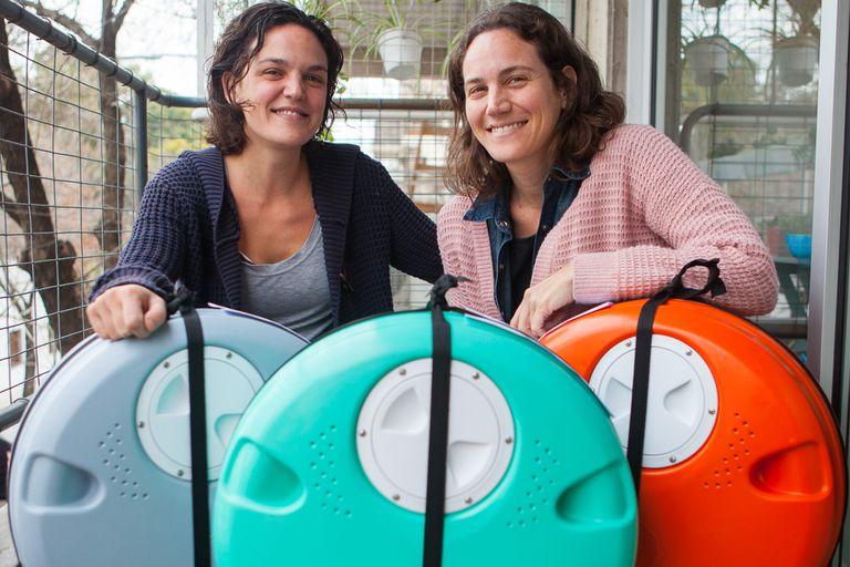 Verónica y Carolina Gheorghiu, creadoras de Viví más verde.
