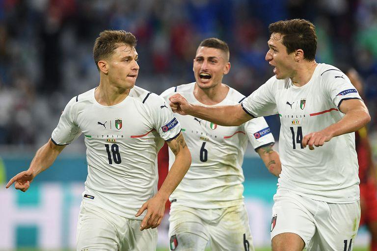 Italia le ganó a Bélgica 2-1 en un gran partido y jugará la semifinal de la Eurocopa ante España
