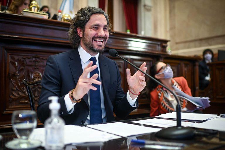 Las 10 respuestas clave de Santiago Cafiero a los senadores