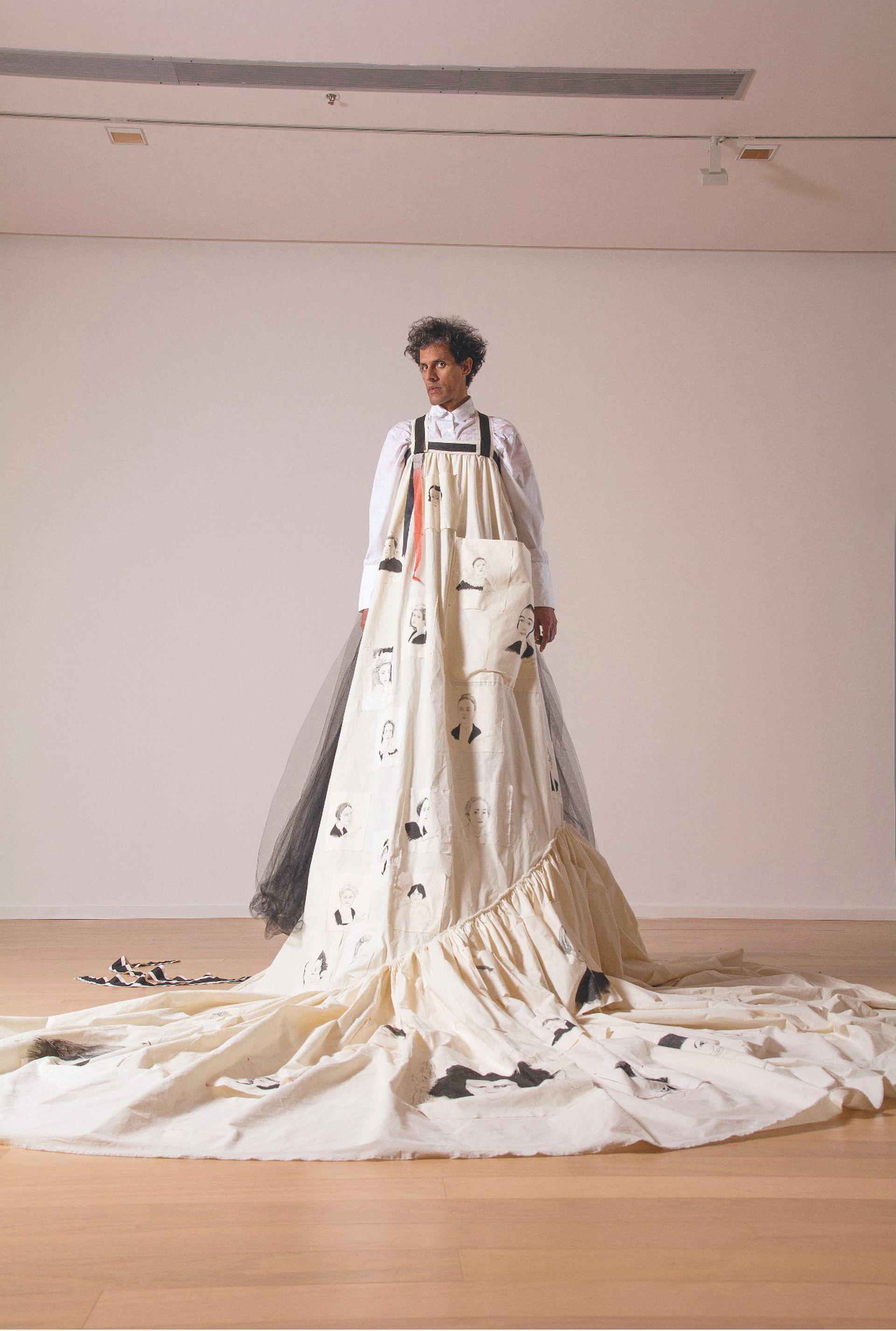 Homenaje a mujeres artistas (2018), dedicado a referentes de la historia del arte que cumplieron un rol fundamental