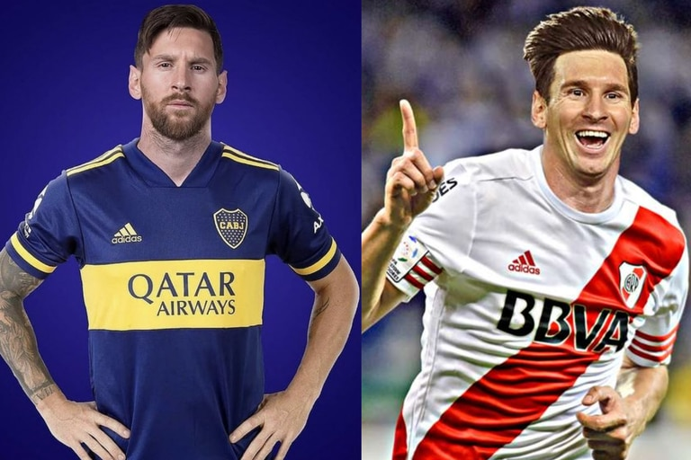 """""""Bienvenido Leo"""": los clubes argentinos se """"pelean"""" por Messi"""
