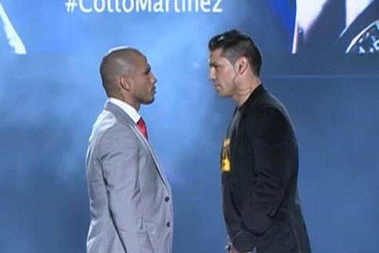 Cotto y Martínez, frente a frente en Puerto Rico