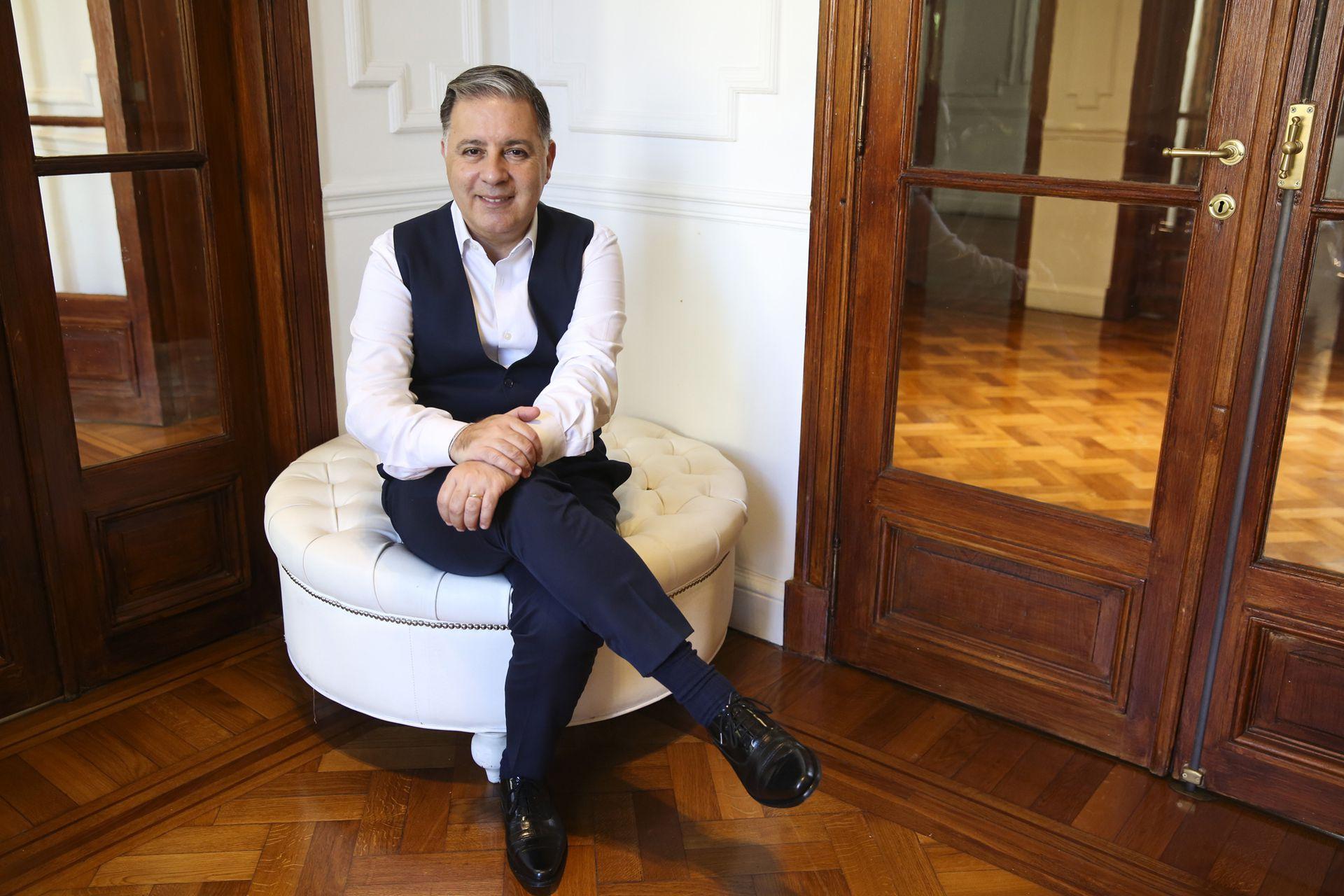 En febrero 2021, durante su última entrevista con La Nación.
