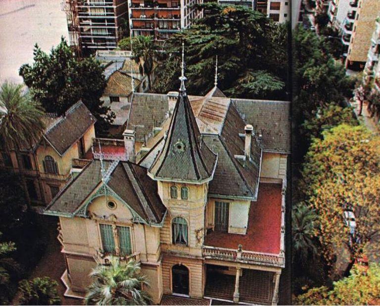"""""""Era lo más parecido a entrar a un castillo que uno podía imaginar"""", recuerda un hombre que visitó la casa cuando tenía 10 años"""