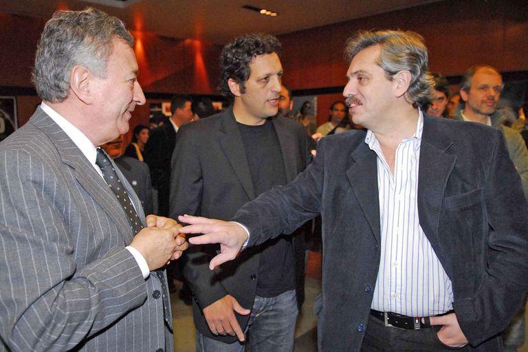 Luis Segura, ex presidente de Argentinos Juniors y hombre de confianza de Alberto Fernández.