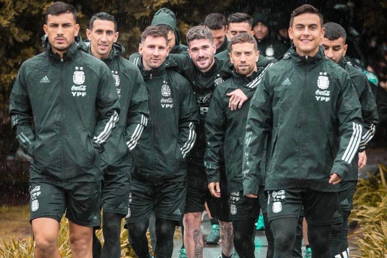 El Monumental se vistió de gala para recibir a la Selección argentina