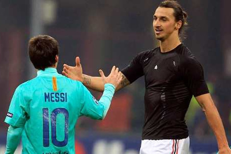 Messi e Ibrahimovic se enfrentarán en Estocolmo