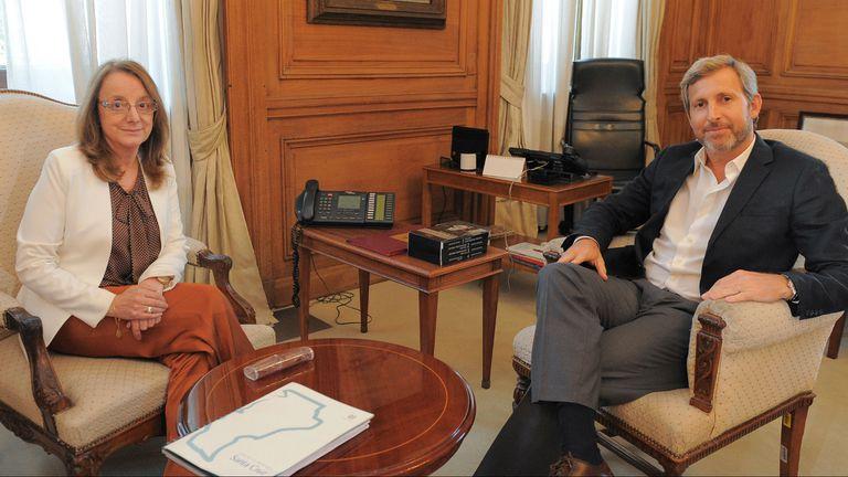 Alicia Kirchner venía reclamando al Gobierno ayuda financiera