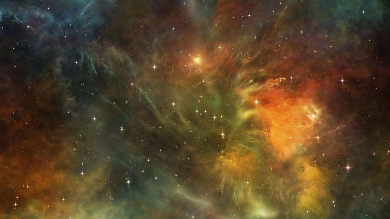 La materia oscura actúa como un pegamento que mantiene unido al universo
