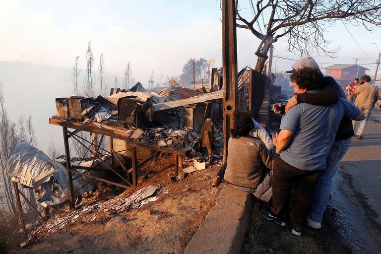 Incendios en Valparaiso