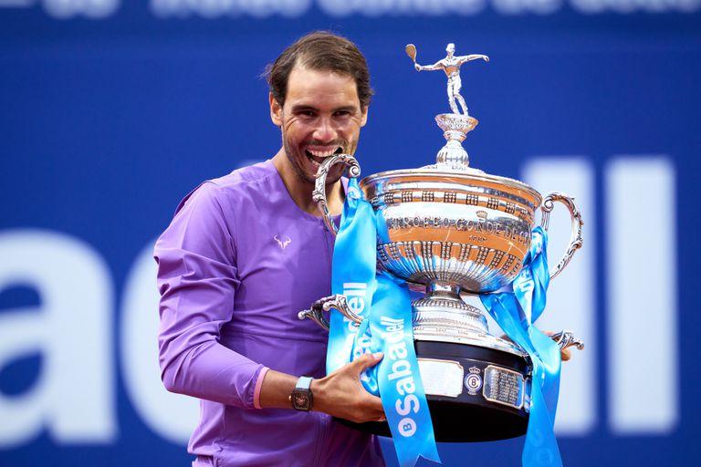 Nadal, épico. Campeón en Barcelona en una final récord frente a Tsitsipas