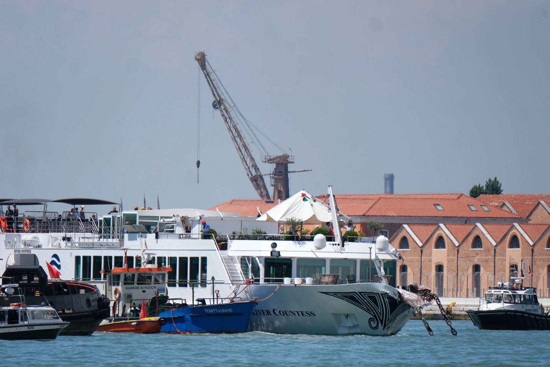"""El """"Opera"""", ya presentó problemas mecánicos en 2011 durante una travesía por el Báltico"""
