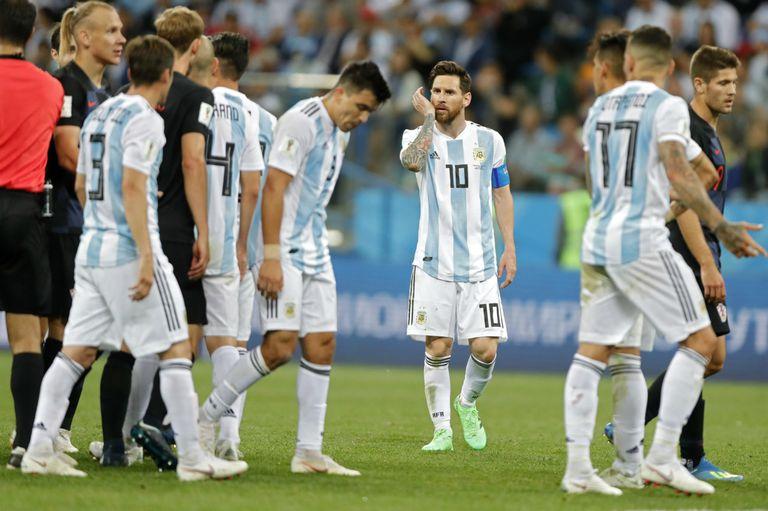La selección argentina pasó vergüenza frente a Croacia