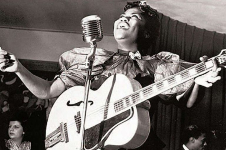 Sister Rosetta Tharpe, la mujer que selló el futuro del rock pero fue olvidada