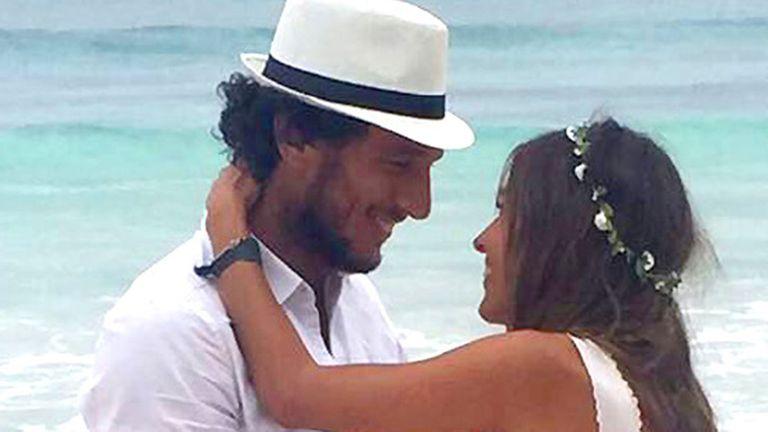 Pico y Pampita volvieron a estar juntos en el festejo del cumpleaños de la modelo en México