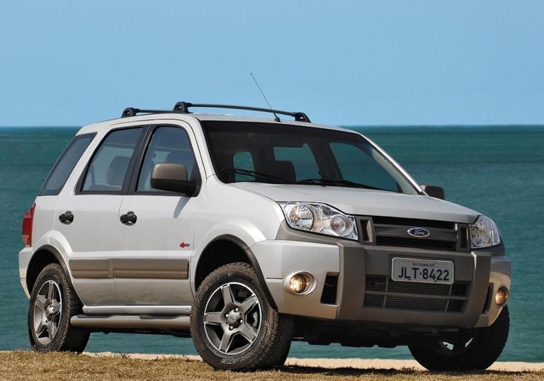 Ford EcoSport 2008, un restyling para modernizar el diseño de la primera generación