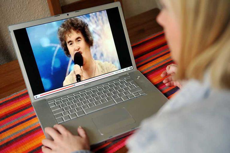 Susan Boyle, una artista que logró notoriedad gracias a un video publicado en YouTube que le dio la fama más allá de Internet