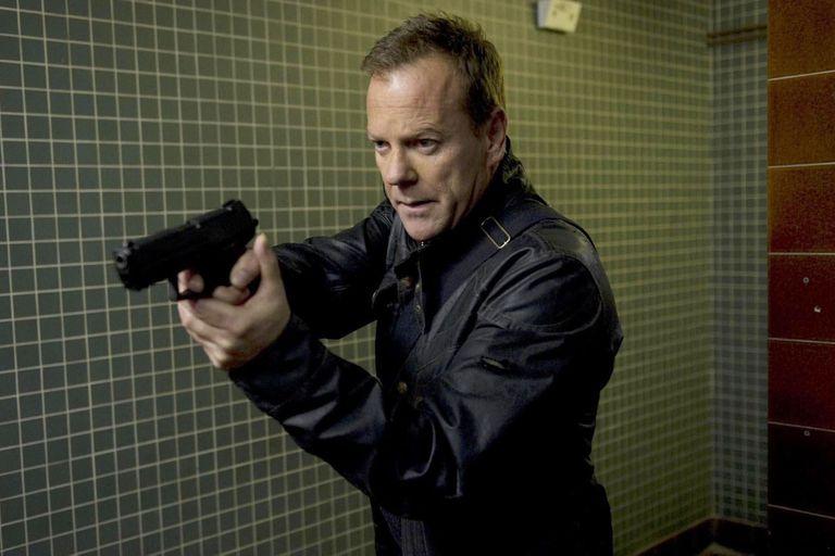 Kiefer Sutherland, aquí como Jack Bauer, en 24