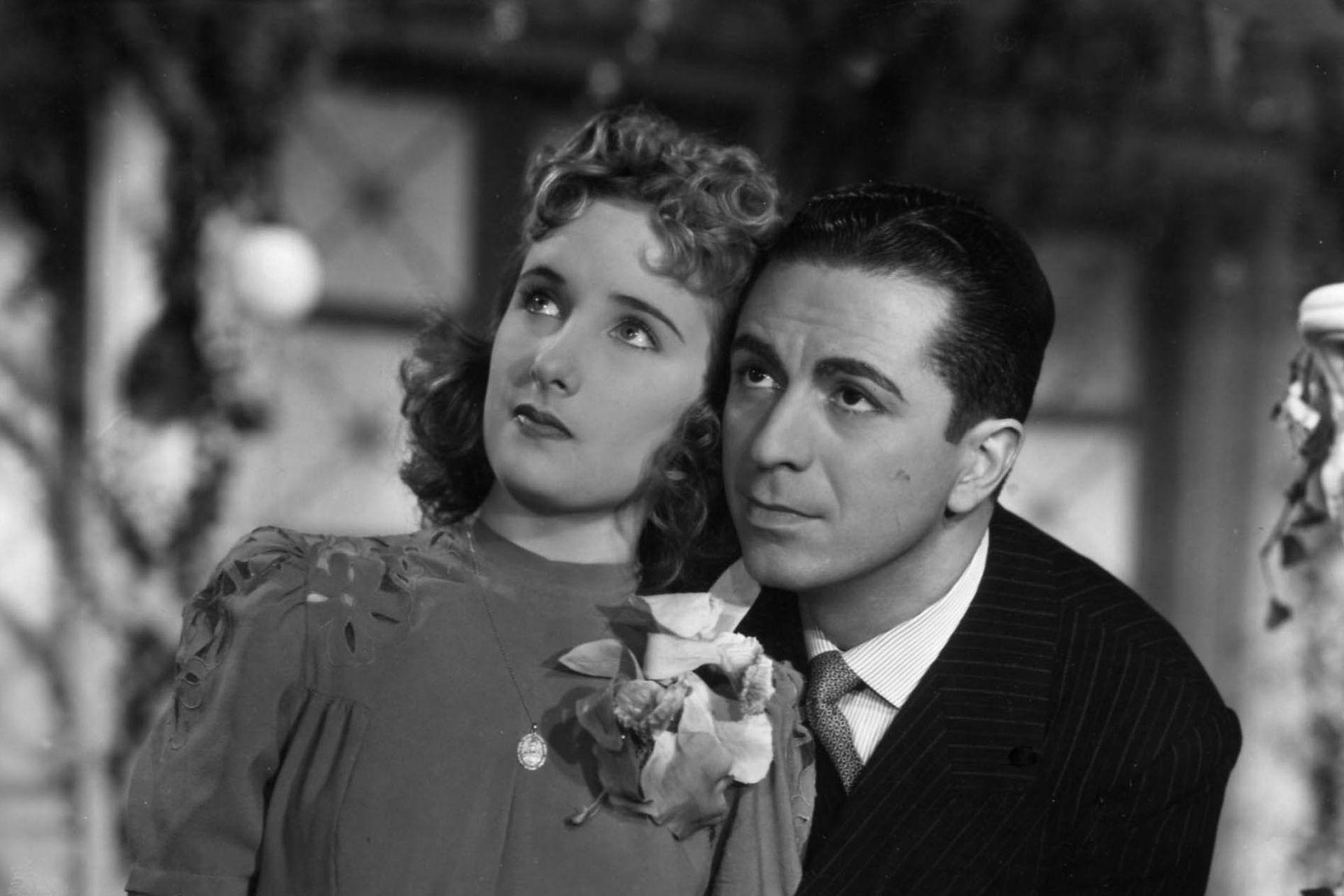 Mirtha Legrand y Juan Carlos Thorry en Los martes orquídeas (1941), de Francisco Mugica