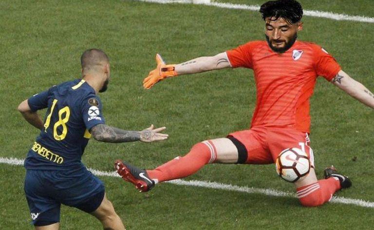 Casco atajaría en River por la Libertadores y estallaron los memes