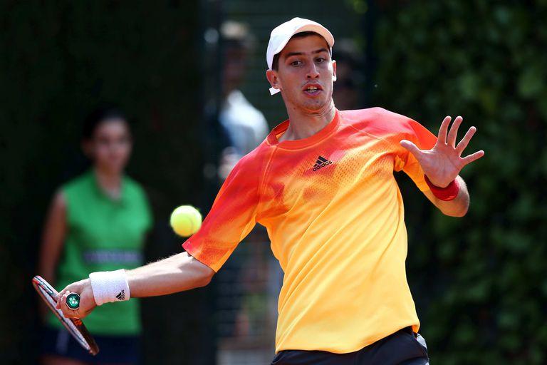 El tenista argentino Pedro Cachin se coronó en el M25 de La Nucía, España, pero por las malas condiciones climáticas debió jugar tres partidos en un día.