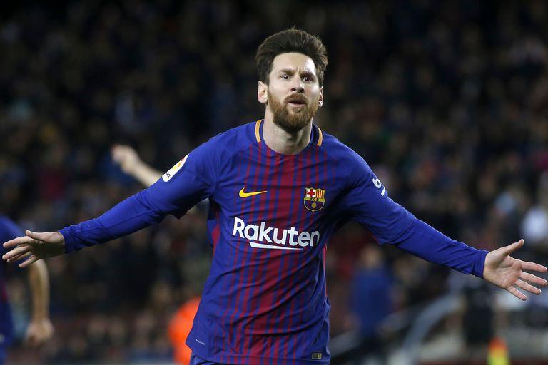 Con un gol de tiro libre de Messi, Barcelona ganó y sigue líder en España
