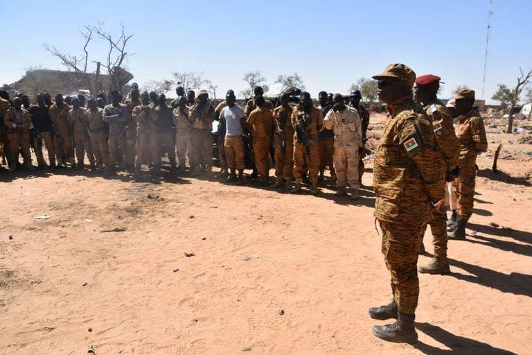 19-02-2020 Militares de Burkina Faso POLITICA AFRICA BURKINA FASO INTERNACIONAL ESTADO MAYOR DEL EJÉRCITO DE BURKINA FASO