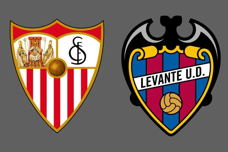 Sevilla venció por 5-3 a Levante como local en la Liga de España