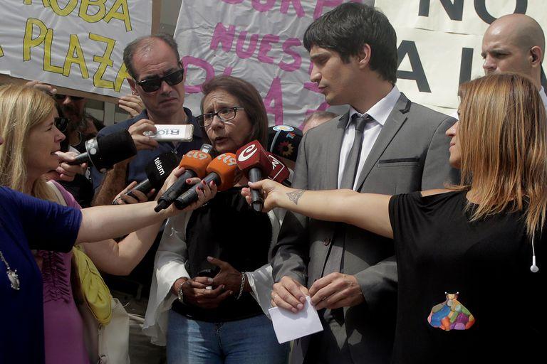 La titular de AVIVI, María Elena Leuzzi