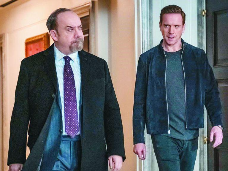 Paul Giamatti y Damian Lewis en Billions