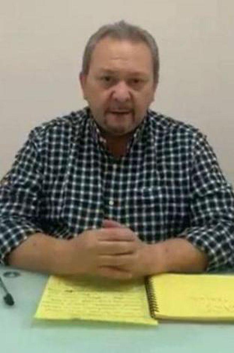 El diputado Hernán Alemán