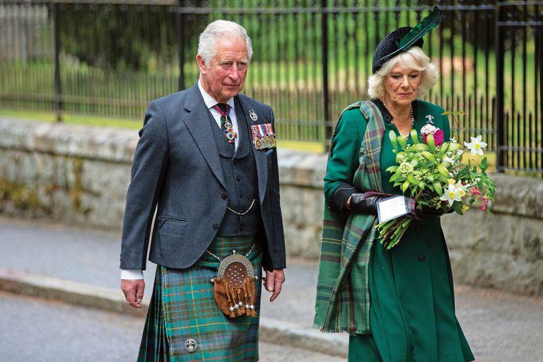 A 75 años de la Segunda Guerra. Reyes y princesas rindieron tributo a los caídos