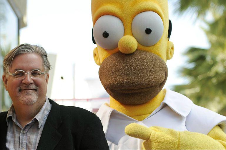 Matt Groening, creador de Los Simpson, que lleva tres décadas en el aire